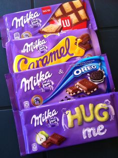 Milka Chocolates i bought from Serbia