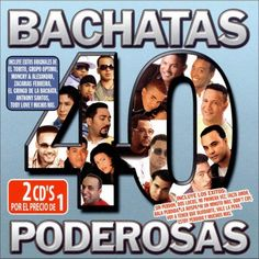 Various Artists - 40 Bachatas Poderosas (CD)