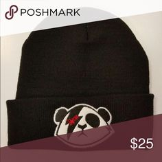Black Rysu Skull Cap All black RYSU skull cap with custom embroidered logo. Perfect for winter and fall. The perfect urban attire. Accessories Hats