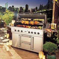 Viking T Series and Viking E Series outdoor grills provide commercial grade  features that professional chefs