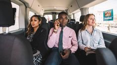 BBC - Autos - Microtransit aims to civilise the worst part of your workday