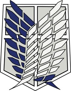 [Attack on Titan] Survey Corps Logo [*.AI file] by King-of-Craziness