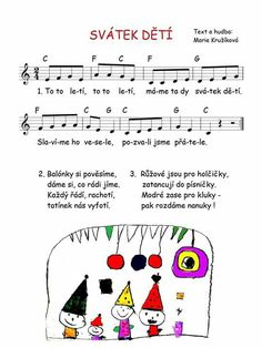 4 Kids, Children, Sheet Music Art, Music Do, Dinosaur Party, School Hacks, Kids Songs, Holidays And Events, Singing