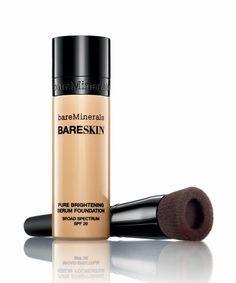 Bare Escentuals Bareminerals - Bareskin Serum Foundatio   Refinery29 reviews Bare Escentuals' newest foundation. #refinery29 http://www.refinery29.com/2014/04/66398/bare-escentuals-bareminerals-bareskin-foundation