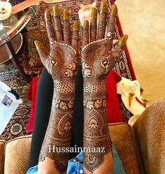 Mehendi designs Full Hand Mehndi Designs, Henna Art Designs, Bridal Mehndi Designs, Bridal Henna, Mehandi Designs, Mehandi Henna, Arabic Mehndi, Henna Tattoos, Mehndi Design Pictures