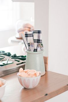 Easy Kitchen Decor Ideas for Entertaining Guests - Love and Specs Kitchen Decor Items, Farmhouse Kitchen Decor, Tea Canisters, Liquid Hand Soap, Kitchen Stools, Neat And Tidy, Contemporary Home Decor, Rustic Decor, Game Changer