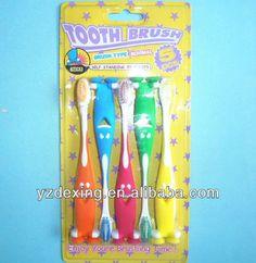 5pcs blister Pack kids toothbrush