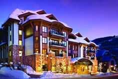 Four properties where you'll be guaranteed impeccable service and killer Rocky Mountain views.