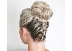 The Best Summer Hair Defrizzers Serum 2020.Styling gel on the front (best selling Frizz Ease is his choice) and combing it back into a little ballerina knot #ballerina#Stylinggel#Best#Summer#Hair#Defrizzers#Serum#combing# High Bun Hairstyles, Prom Hairstyles For Short Hair, Prom Hair Updo, Party Hairstyles, Wedding Hairstyles, Short Haircuts, Hairstyles Haircuts, Straight Hairstyles, Curly Hair Styles