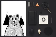 A bear Poster - Coco Lapine