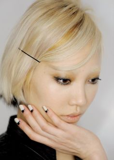 hair and nail matching Soo Joo Park #pixiemarket