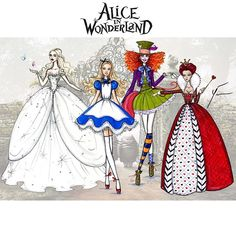 Alice in Wonderland Collection by Yigit Ozcakmak (live-action)