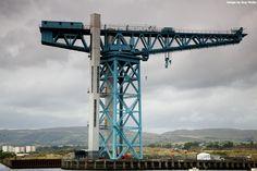 The Titan Crane, recently dedicated as an International Historic Civil and Mechanical Engineering Landmark