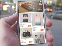 On Sale app sporting slick ecommerce interface Mobile Application Design, Mobile Web Design, Ios App Design, Web Ui Design, App Design Inspiration, Wordpress, Smartphone, Ipad, Android