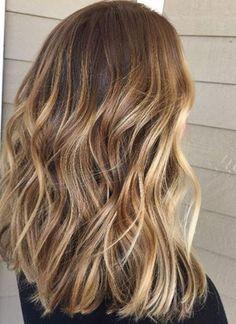 Hair Color Ideas 2018 : honey balayage bronde hair color idea Discovred by : Mane Interest Honey Balayage, Bronde Balayage, Hair Color Balayage, Hair Highlights, Bayalage Caramel, Honey Highlights, Color Rubio, Look 2017, Super Hair