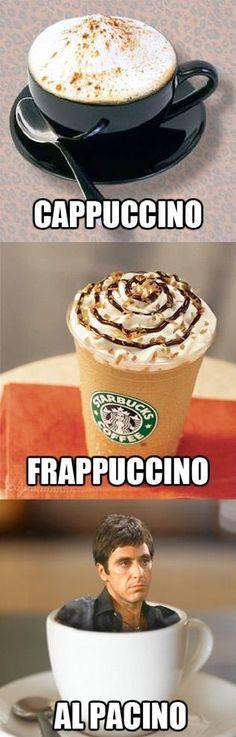 Si un café lleva tu nombre, puedes considerarte que ya eres famoso.