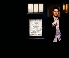 Cas Stole The Tardis...   so much awesome