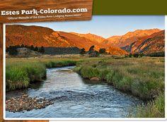 Estes Park, Colorado  Gateway to Rocky Mountain National Park.   Breathtaking beauty!