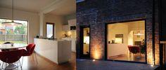 cuisine, salle à manger vers la terrasse