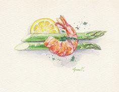 Asparagus & Shrimp