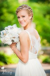 Illusion Back Wedding Dress - Image by J Fray Photography Cleveland, OH