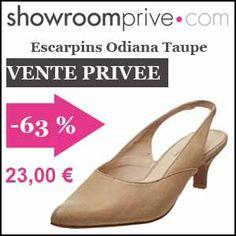 #missbonreduction; Vente privée : 63 % de réduction sur les Escarpins Odiana Taupe chez Showroomprive. http://www.miss-bon-reduction.fr//details-bon-reduction-Showroomprive-i853029-c1835291.html