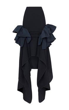 Underworld Ruffle Skirt by MATICEVSKI for Preorder on Moda Operandi | Maticevski Resort 17 | tonimaticevski.com