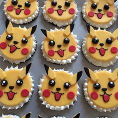 Pokemon Pikachu cupcake