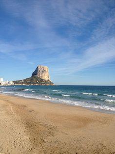 """Colección """"Calpe de dentro hacia fuera"""" nº2 #descubriendoCalpe Lugar: Playa del Arenal Fecha: 25 de marzo de 2013"""