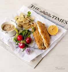 Fish and chips by Frabisa, via Flickr