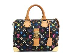 LOUIS #VUITTON Speedy 30 Hand bag Monogram Multicolor Noir M92642 (BF077950). Authenticity guaranteed, free shipping worldwide & 14 days return policy. Shop more #preloved brand items at #eLADY: http://global.elady.com