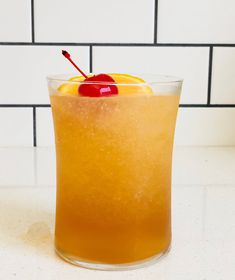 """We Turned This Classic Cocktail Into a Slushy—It's Our New Summer Obsession 