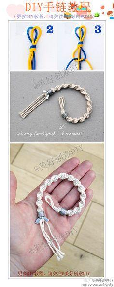 2 String bracelet
