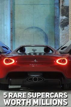 The most expensive cars in the world are viewed as rolling art pieces, with a flamboyance and swagger that take priority over the practicalities of transportation. These are truly mind-boggling machines,...