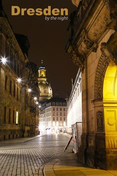 Dresden, Germany - I walked alone on the streets of Dresden for almost an entire week - sometimes meeting strangers, often just shivering alone as I set my camera. But guess what? I loved it :)
