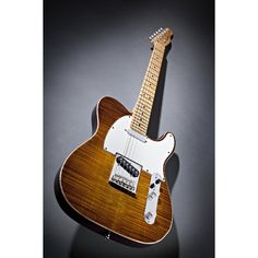 Guitar Candy - Fender Select Telecaster Chambered Ash Violin Burst Flame Maple Top.