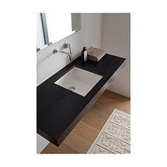 Miky Undermount Bathroom Sink Scarabeo by Nameeks