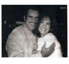 Vicente Fernandez and Selena Quintanilla
