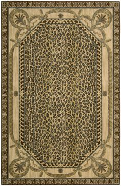 Astoria Grand Weldon Beige Animal Print Area Rug Rug Size: x Wool Area Rugs, Beige Area Rugs, Persian Blue, Design 24, Navy Blue Area Rug, Outdoor Area Rugs, Traditional Design, Rug Size, Animal Print Rug