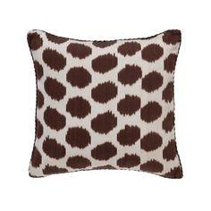 Little Mu Ikat Pillow