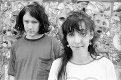 Kevin Shields and Bilinda Butcher in Hoboken, New Jersey, 1989