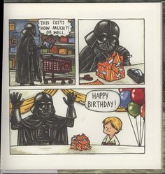 from 'Darth Vader and Son' I have this book and the rest of the series Star Wars Cartoon, Star Wars Comics, Star Wars Humor, Star Wars Art, Star Trek, Reylo, Darth Vader And Son, Pokemon, Clone Wars