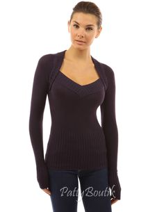 2 in 1 Style V Neck Sweater - PattyBoutik