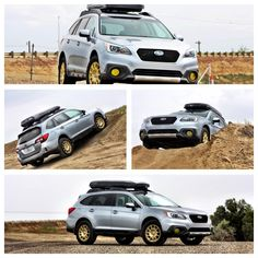 2015 Outback With Gold Sparco Wheels