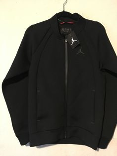 bedbb43e Nike Air Jordan Flight Tech Sportswear Jacket Mens -sz Sm- Black 887776 010  for sale online