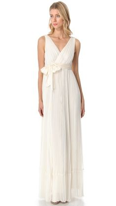 Greece Double V Neck White Bride Bridesmaids Wedding Dress Gown W422 99 00 Via Etsy I M Not Engaged Pinterest Gowns And Brides