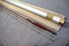 """RON KUSSE - MAKER, NY  MODEL """"SPECIAL""""  8' 2PC 2 TIP 5 WT"""