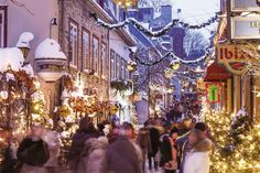 Vote du USA Today: Québec meilleure ville de Noël en Amérique du Nord