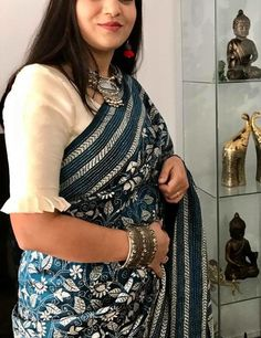 20 Stunning And Unique Saree Blouse Designs - ArtsyCraftsyDad White Blouse Designs, Saree Blouse Neck Designs, Saree Blouse Patterns, Latest Blouse Designs, Indian Blouse Designs, Designer Blouse Patterns, Designer Saree Blouses, Sleeves Designs For Dresses, Sleeve Designs