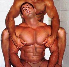 Muscle man gay romantic hunk